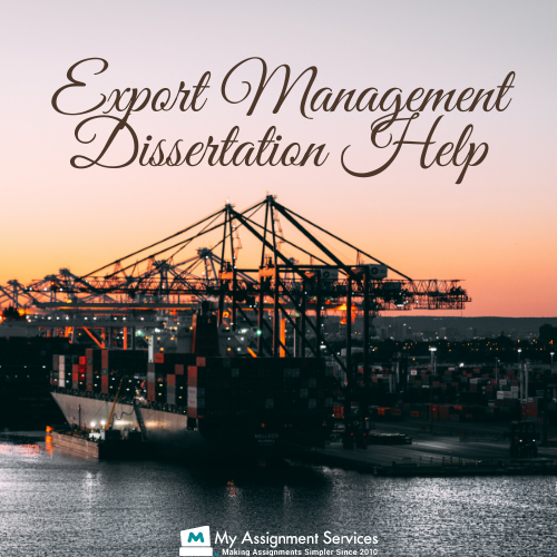 export management dissertation help