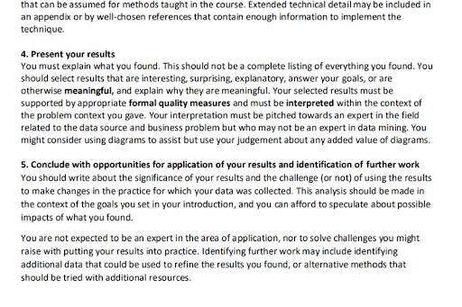 Reliable Data Mining dissertation help