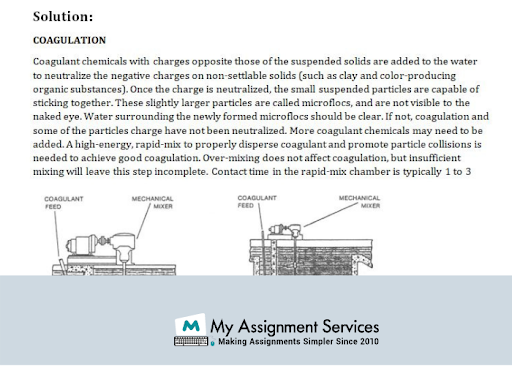 Water and Waste treatment dissertation writers