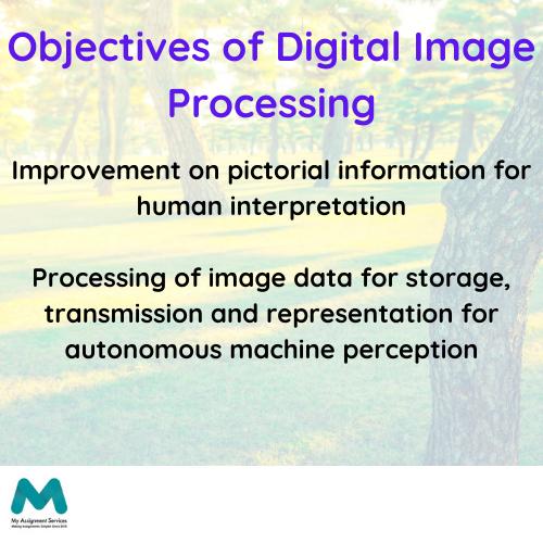 digital image processing homework help