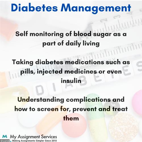 diabetes education and management