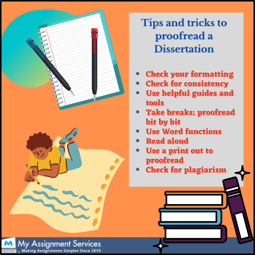Tips and tricks for dissertation
