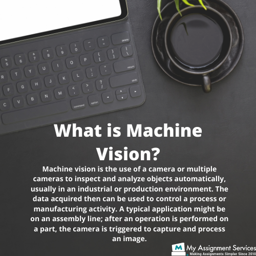 what is machine vision