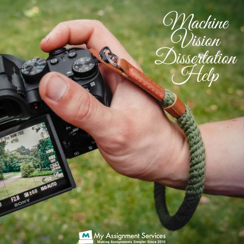 machine vision dissertation help