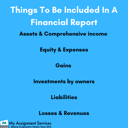Financial Reporting Assignment help in UK