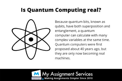 Is Quantum Computing real