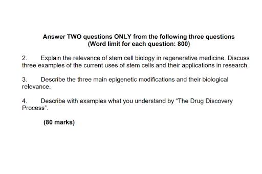 molecular medicine assignment help