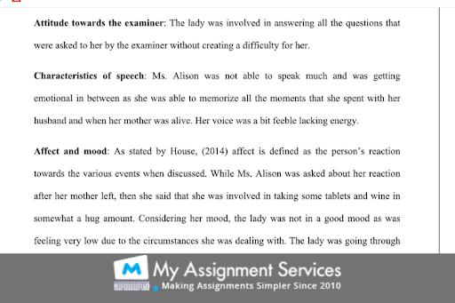 mental Health Nursing dissertation sample