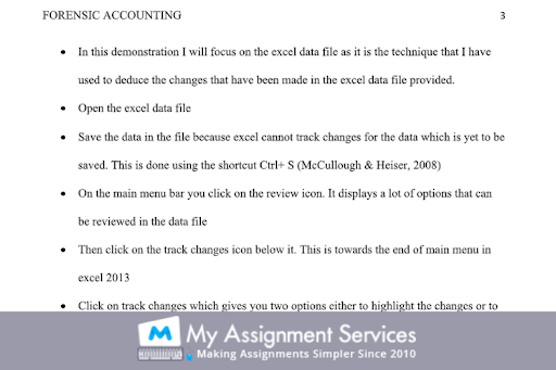 Forensic Accounting Dissertation Expert