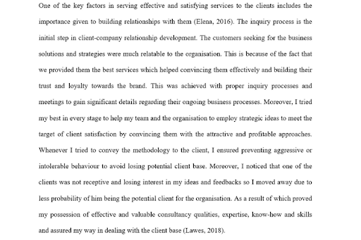business consulting dissertation sample