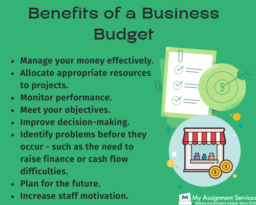 benefits of business budgets
