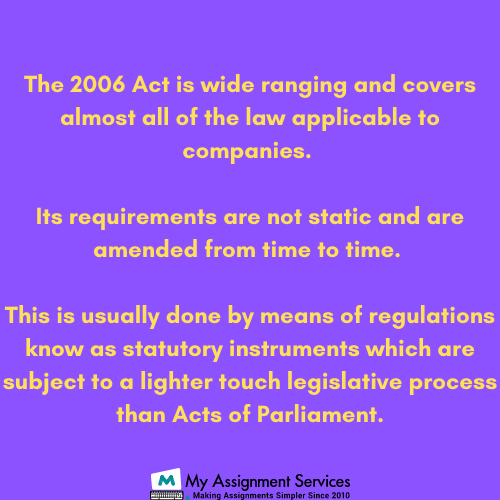 company law UK