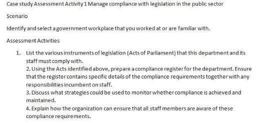 Public Sector Management Assignment sample