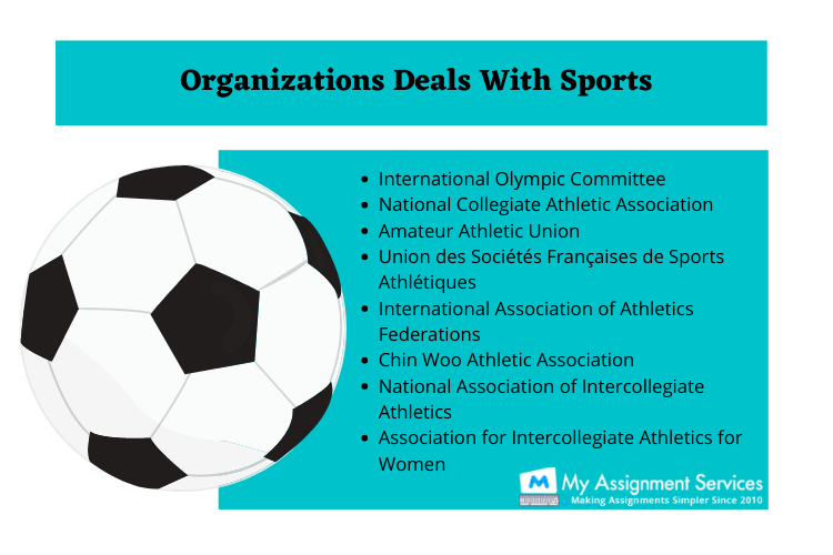 organisations deals with sports