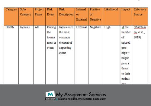 risk management dissertation help