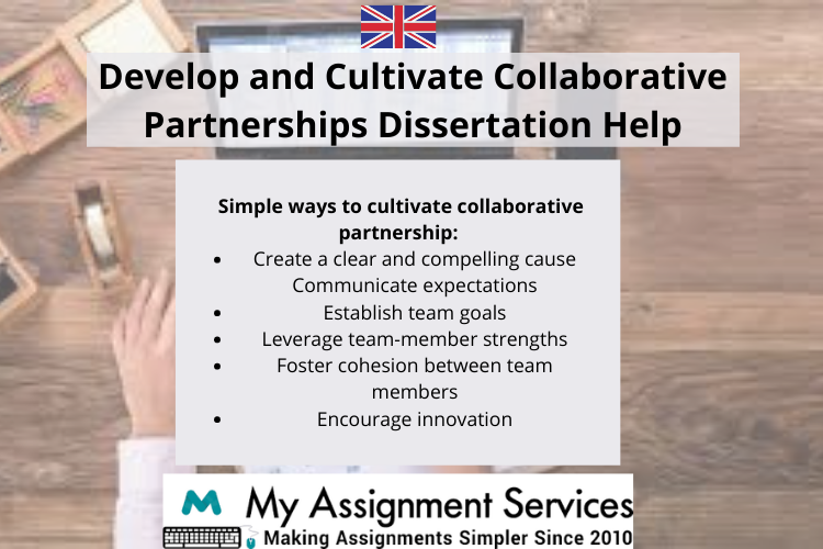 Develop and Cultivate Collaborative Partnerships dissertation help