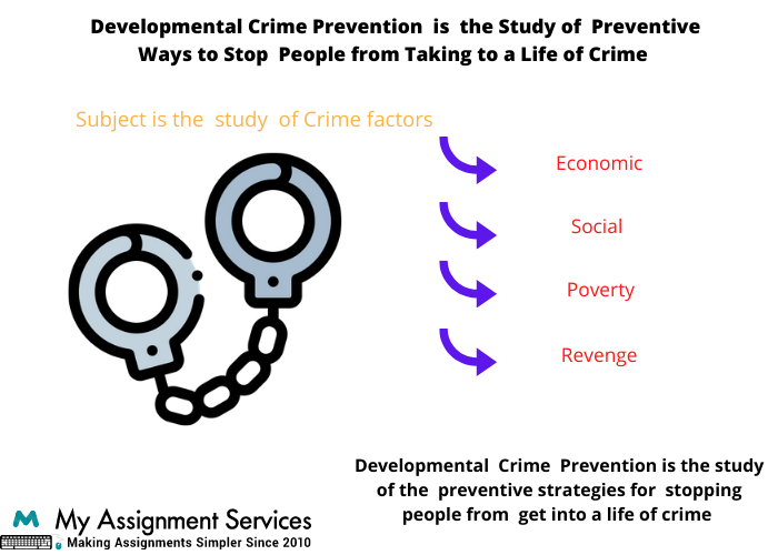 Developmental Crime Prevention Assignment Help UK