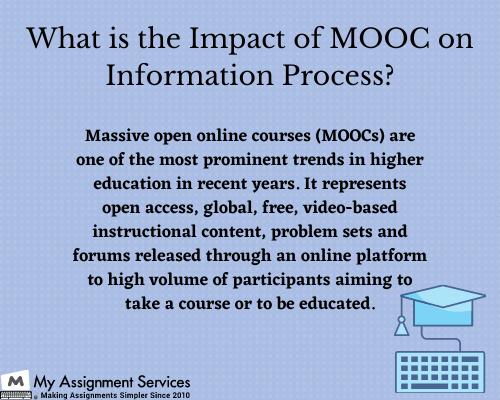 MOOC information process
