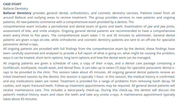 dentistry assignment help