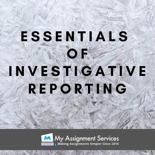 essentials of report writing