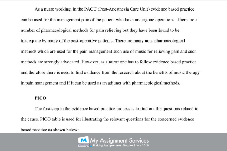 Music Therapy Assignment Help
