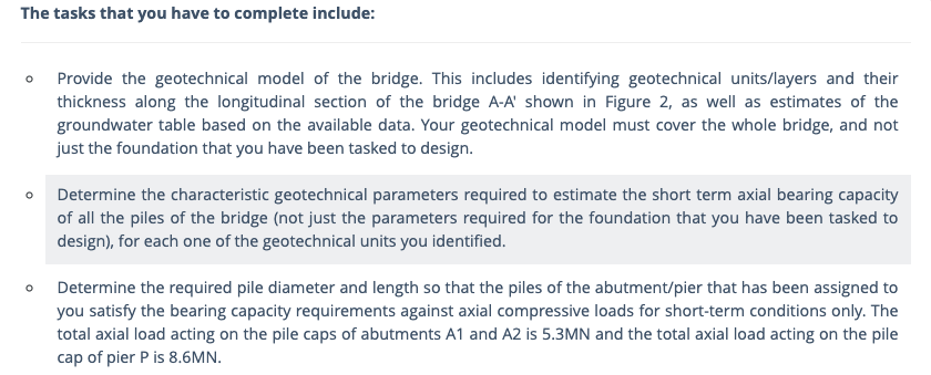 Geotechnical Engineering Assignment Samples
