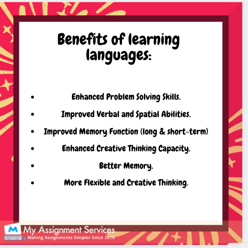 benefits of learning languages