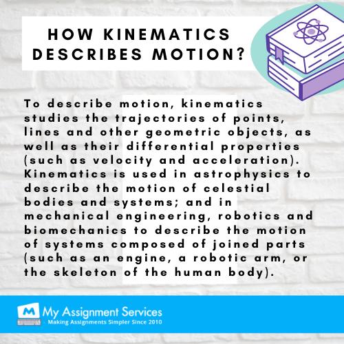 kinematics and motion