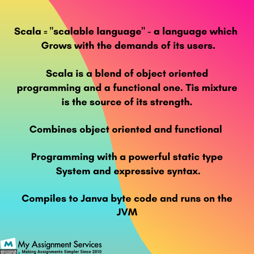 Scala assignment help