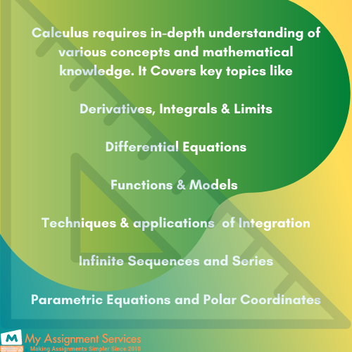 Key Features of Calculus