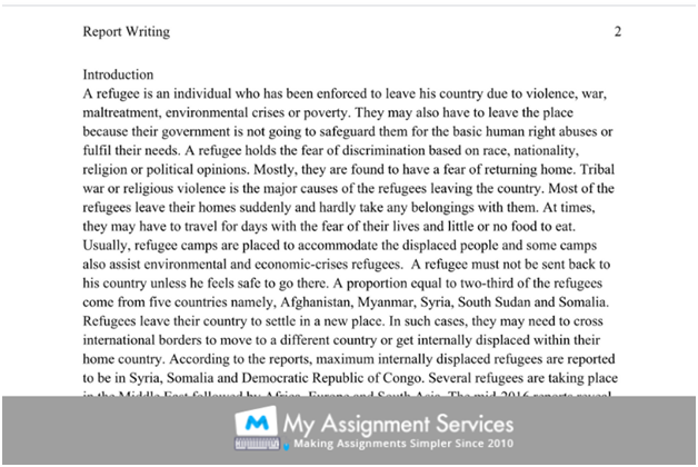 Format Of A Dissertation