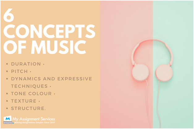 6 concepts of music