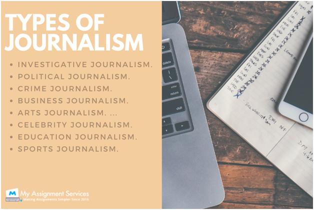 types of journalism