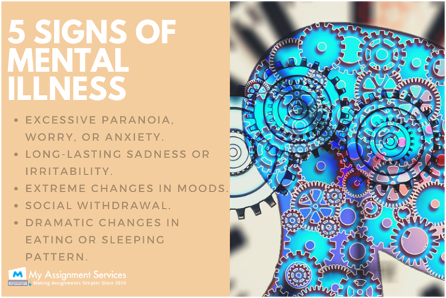 5 Signs Of Mental Illness
