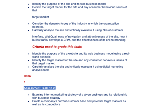 Digital Marketing Dissertation Sample