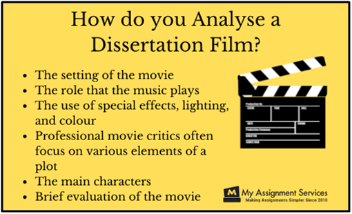 Film dissertation topic ideas