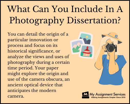 photography dissertation