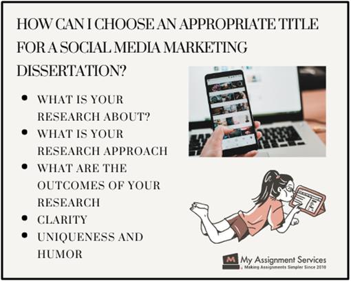 social media marketing dissertation help