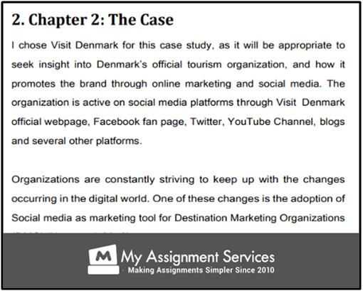 Social Media Marketing Dissertation Samples