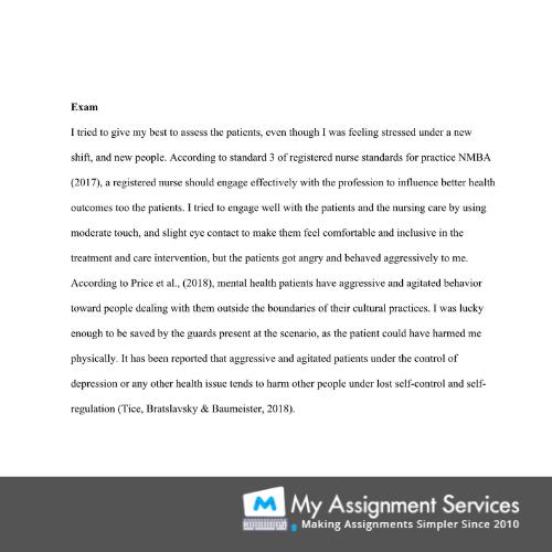 personal essay sample