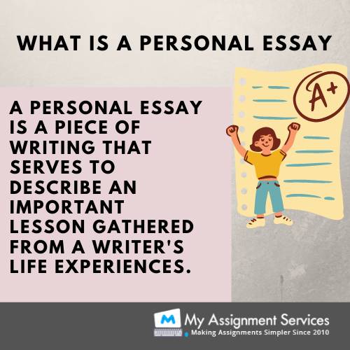 what is personal essay