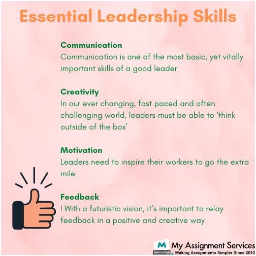 Leadership Skills Assignment Help