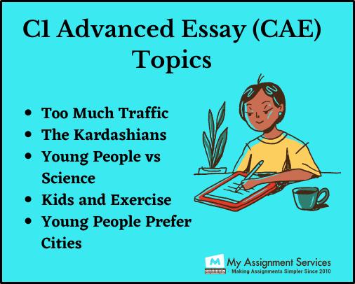 CI Advanced essay topic