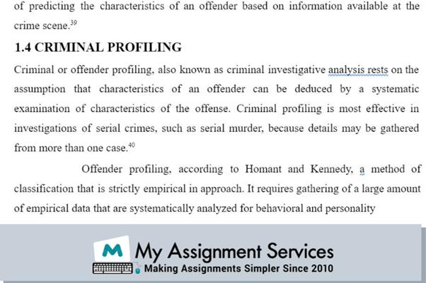 dissertation assignment sample