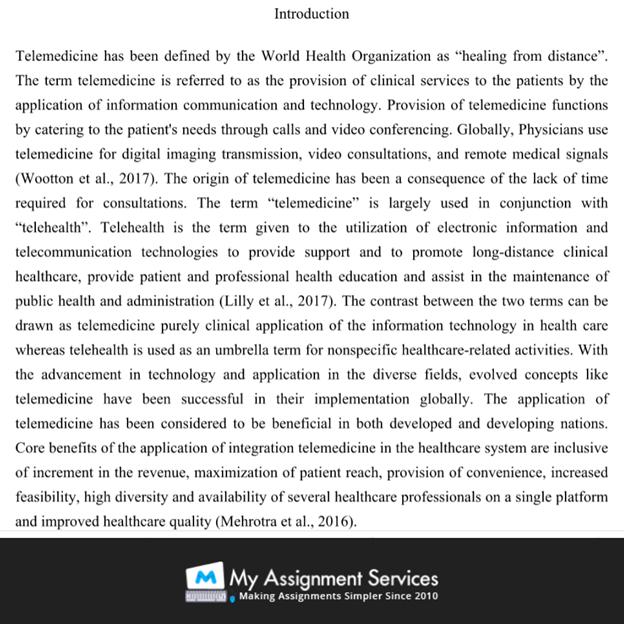 dissertation sample introduction