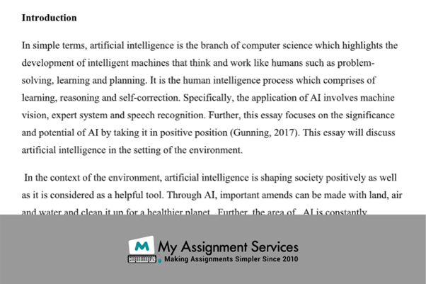assignment solution introduction