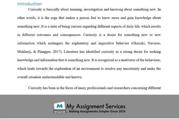 dissertation question solution introduction
