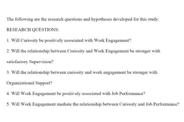 dissertation question research