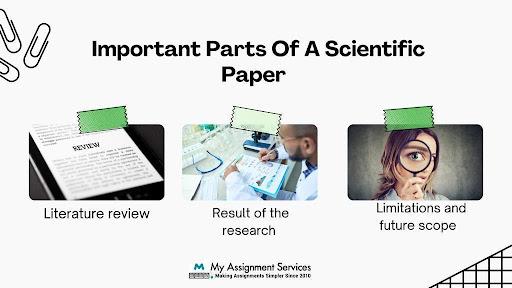 Scientific paper writing help