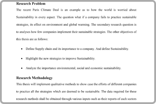 Dissertation Sample